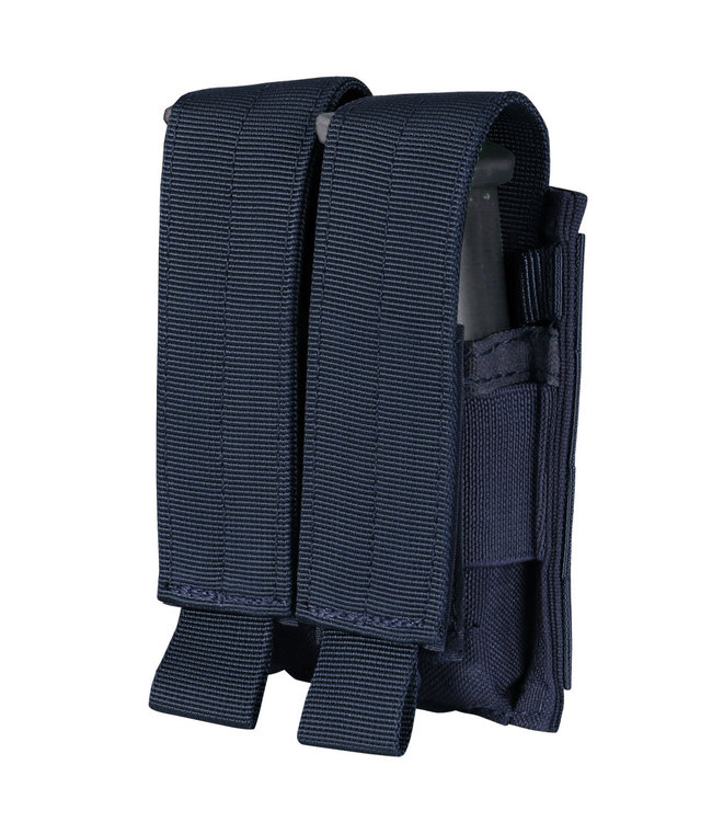 Condor Outdoor Double Pistol Mag Pouch Navy Blue (MA23-006)