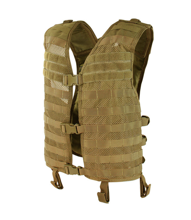 Condor Outdoor MESH HYDRATION VEST Coyote Brown (MHV-498)