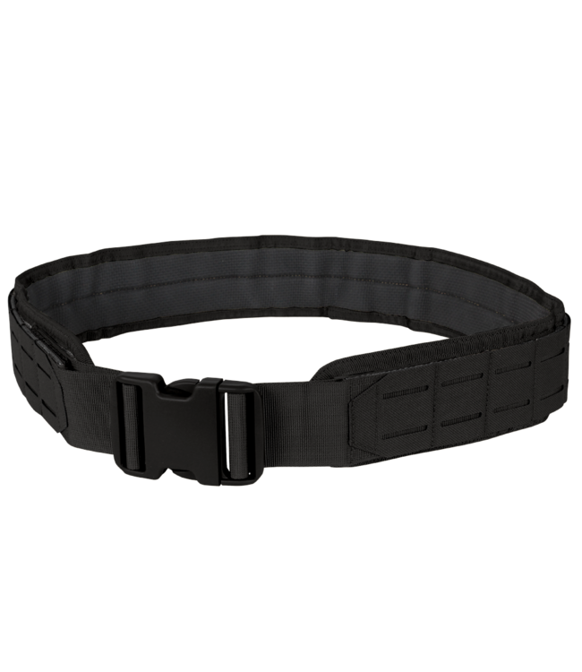 Condor Outdoor LCS Gun Belt - Lasercut MOLLE Belt Black (121174-002)