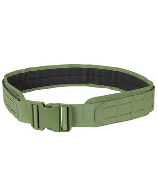 Condor Outdoor LCS Gun Belt - Lasercut MOLLE Belt OD Green (121174-001)