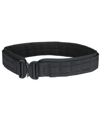 Condor Outdoor LCS Cobra Gun Belt - Lasercut MOLLE Belt Black (121175-002)