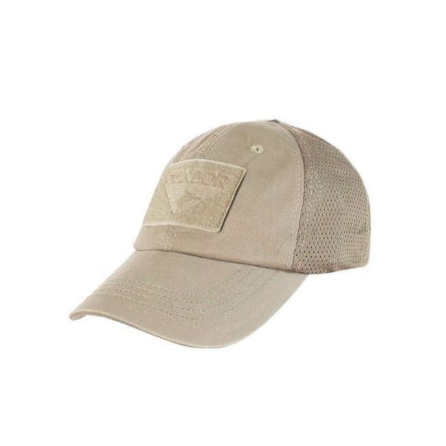 Condor Outdoor Tactical Mesh Cap Tan  (TCM-003)