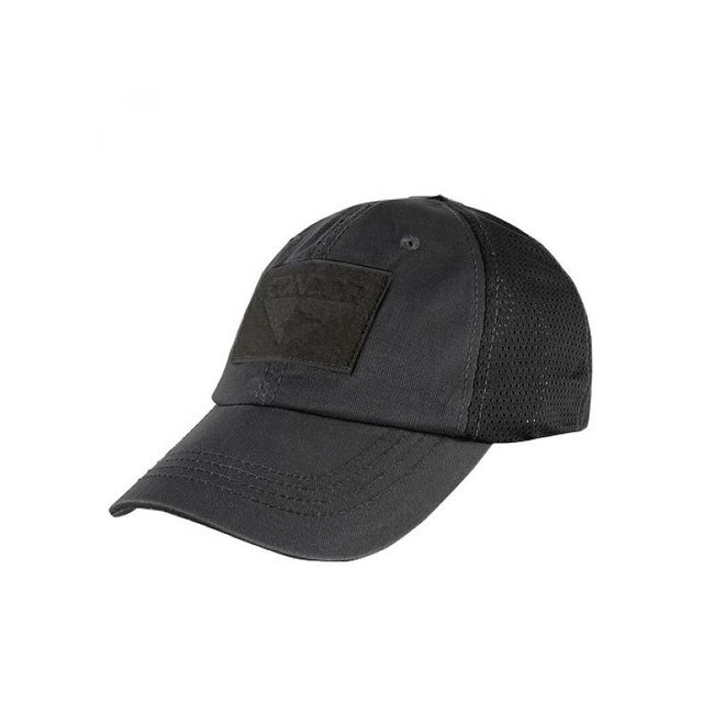 Condor Outdoor Tactical Mesh Cap Black (TCM-002)