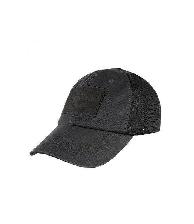 Condor Outdoor Tactical Mesh Cap Black (TCM-002)