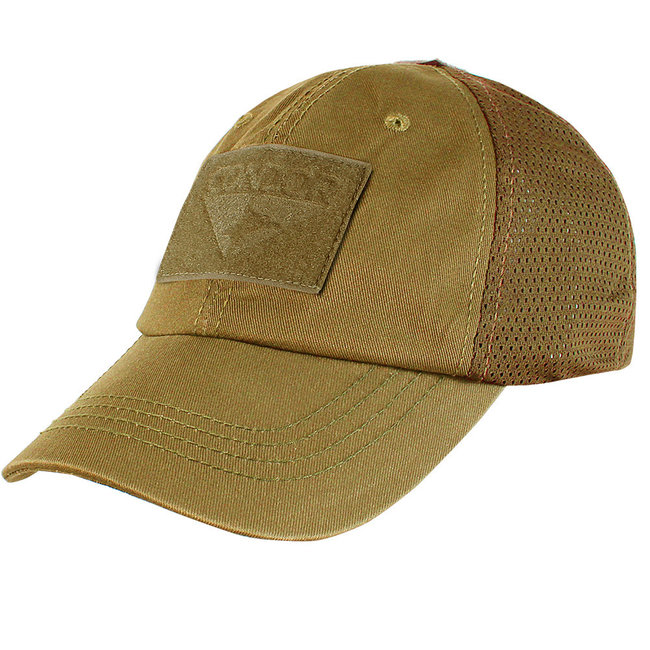 Condor Outdoor Tactical Mesh Cap Coyote Brown (TCM-498)