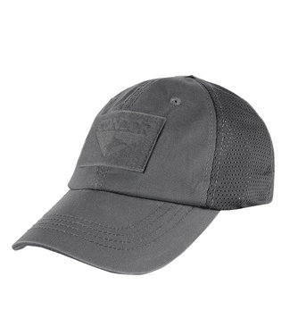 Condor Outdoor Tactical Mesh Cap Graphite Grey (TCM-018)