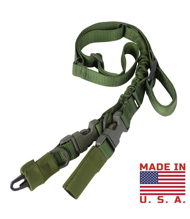 Condor Outdoor Stryke Single Bungee Conversion Sling OD Green (US1009-001)