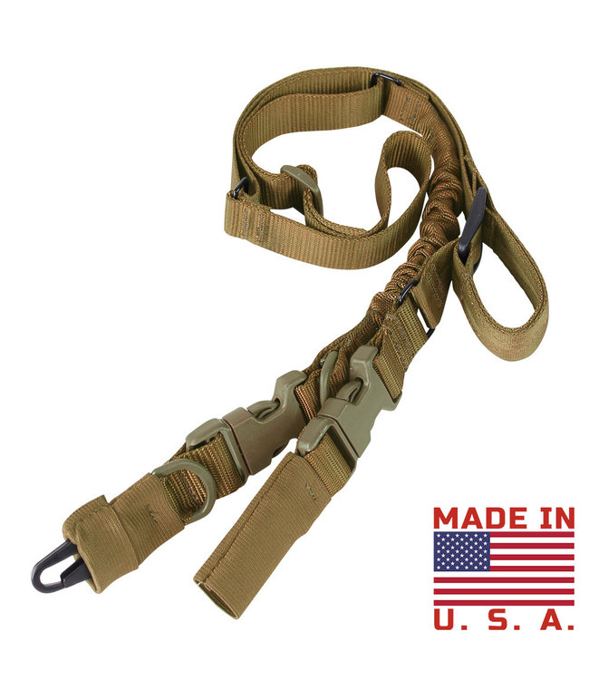 Condor Outdoor Stryke Single Bungee Conversion Sling Coyote Brown (US1009-498)