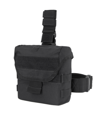 Condor Outdoor Drop Leg Dump Pouch Black (MA38-002)