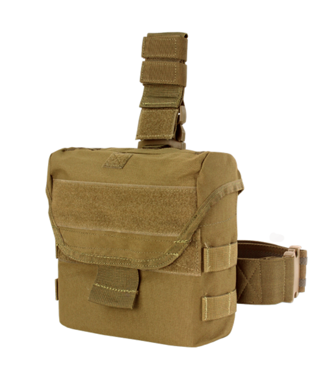 Condor Outdoor Drop Leg Dump Pouch Coyote Brown (MA38-498)