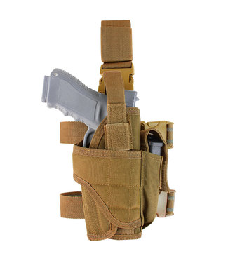 Condor Outdoor Tornado Tactical Leg Holster Coyote Brown (TTLH-498)
