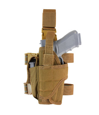 Condor Outdoor Tornado Tactical Leg Holster Left Handed Coyote Brown (171170-498)
