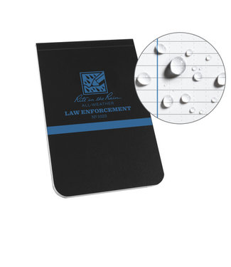 Rite in the Rain 3.25 X 5 LAW ENFORCEMENT NOTEBOOK - Thin Blue Line (1023)