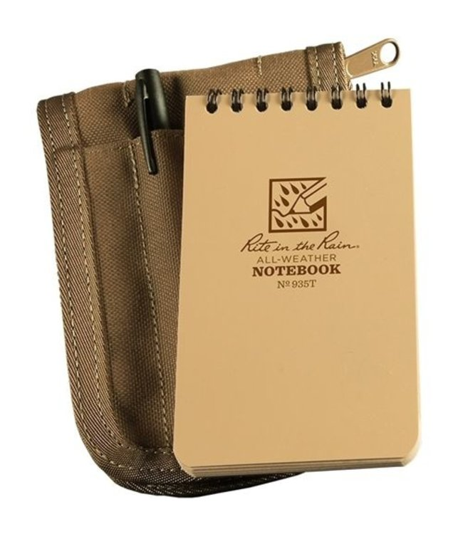 Rite in the Rain 3 x 5 Kit Tan Book/Tan Cover/ Black Pen (935T-KIT)