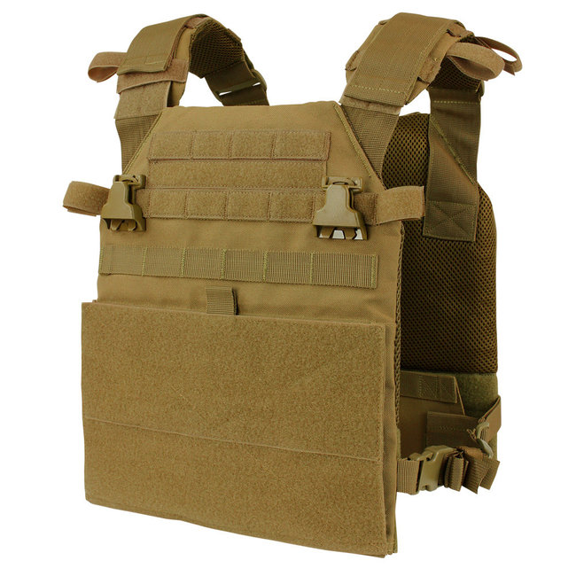 Condor Outdoor Condor Vanquish Armor System Plate Carrier Coyote Brown (201079-498)