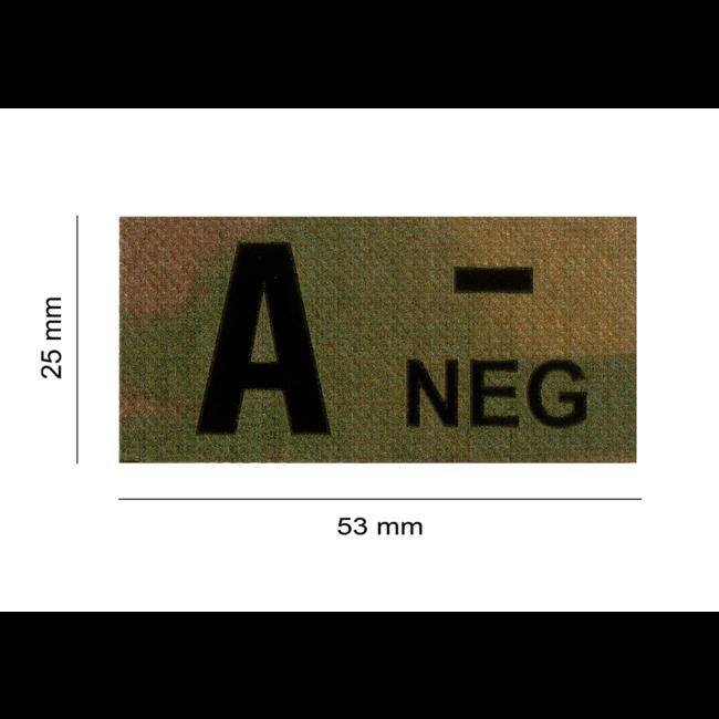 Clawgear A NEG IR PATCH MULTICAM - INFRAROOD BLOEDGROEP