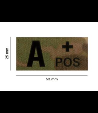 Clawgear A POS IR PATCH MULTICAM - INFRAROOD BLOEDGROEP