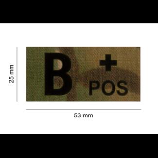 Clawgear B POS IR PATCH MULTICAM - INFRAROOD BLOEDGROEP