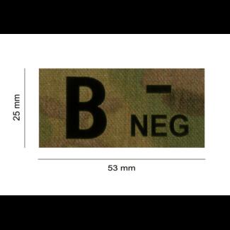 Clawgear B NEG IR PATCH MULTICAM - INFRARED BLOODTYPE