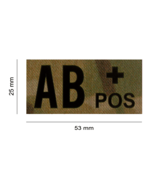 Clawgear AB POS IR PATCH MULTICAM - INFRARED BLOODTYPE