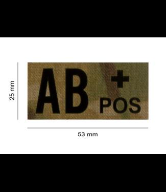 Clawgear AB POS IR PATCH MULTICAM - INFRAROOD BLOEDGROEP