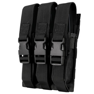 Condor Outdoor Triple MP5 Mag Pouch Black (MA37-002)