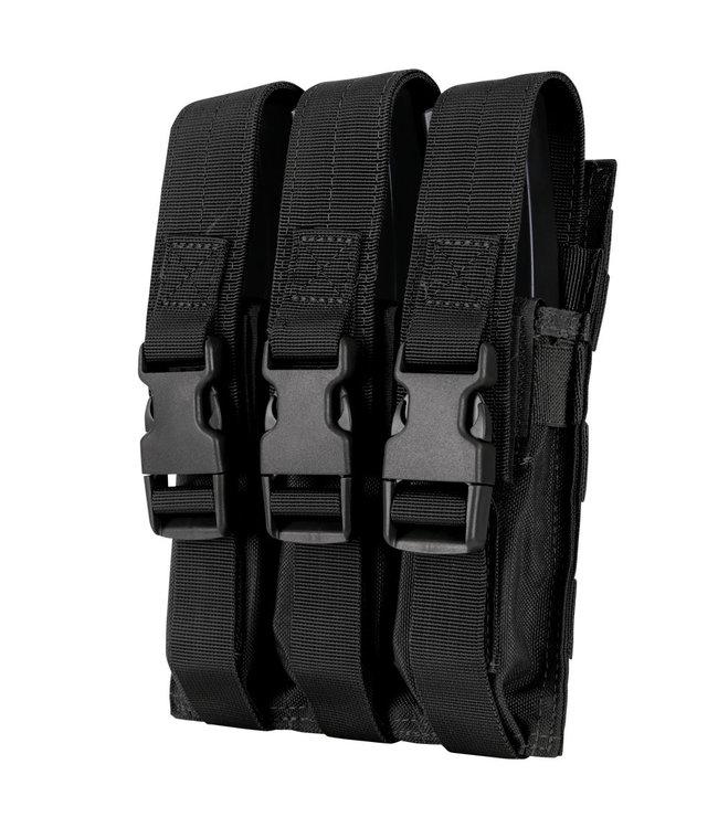 Condor Outdoor Triple MP5 Mag Pouch Black (MA37-002)