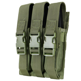 Condor Outdoor Triple MP5 Mag Pouch OD Green (MA37-001)