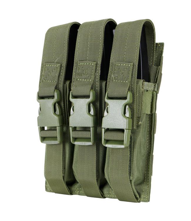 Condor Outdoor Triple MP5 Mag Pouch OD Green (MA37-001)