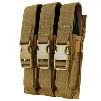 Condor Outdoor Triple MP5 Mag Pouch Coyote Brown (MA37-498)