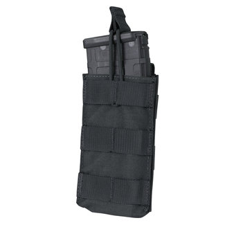 Condor Outdoor Single Open-Top M4/HK416/C8/Diemaco Mag Pouch Black  (MA18-002)