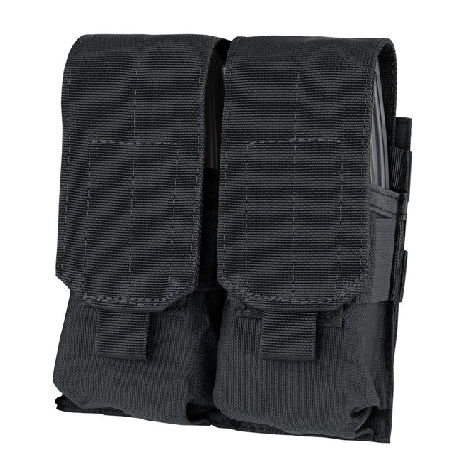 Condor Outdoor Double M4 Mag Pouch Black (MA4-002)