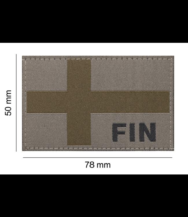 Clawgear Finland Flag Patch RAL7013 (20967)