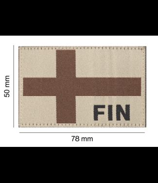 Clawgear Finland Flag Patch Desert (20966)