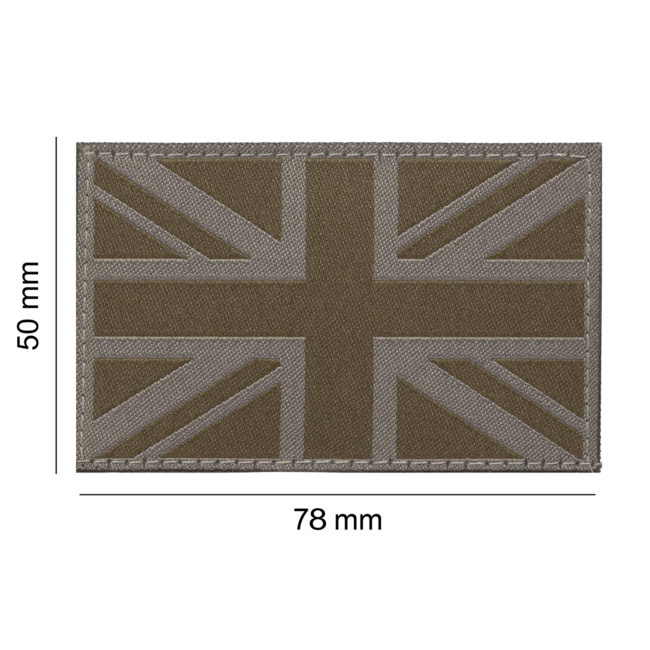 Clawgear Great Britain Flag Patch RAL7013 (20989)