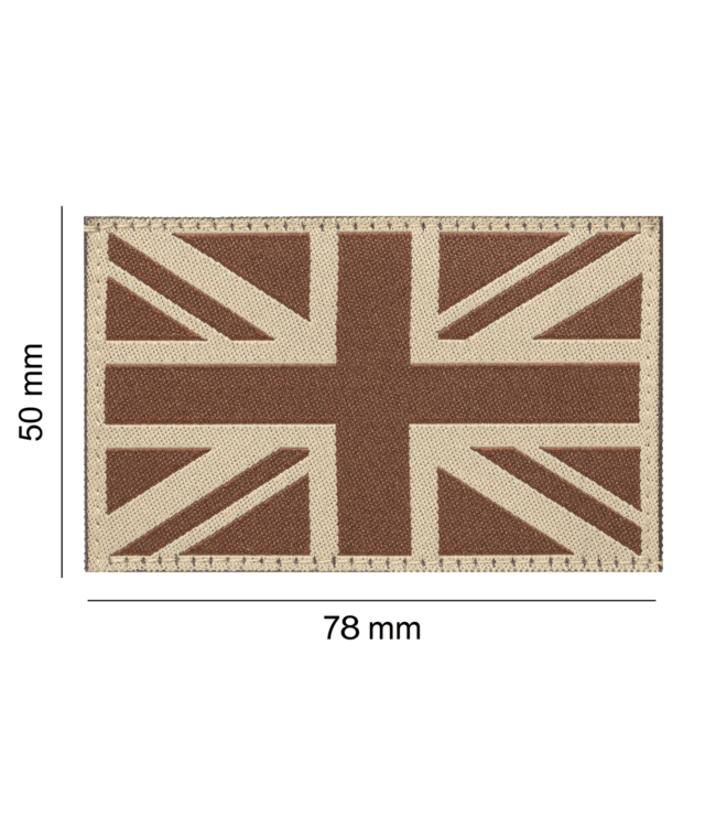 Clawgear Great Britain Flag Patch Desert (20988)