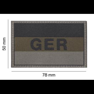 Clawgear Germany/Deutschland Flag Patch RAL7013 (20971)