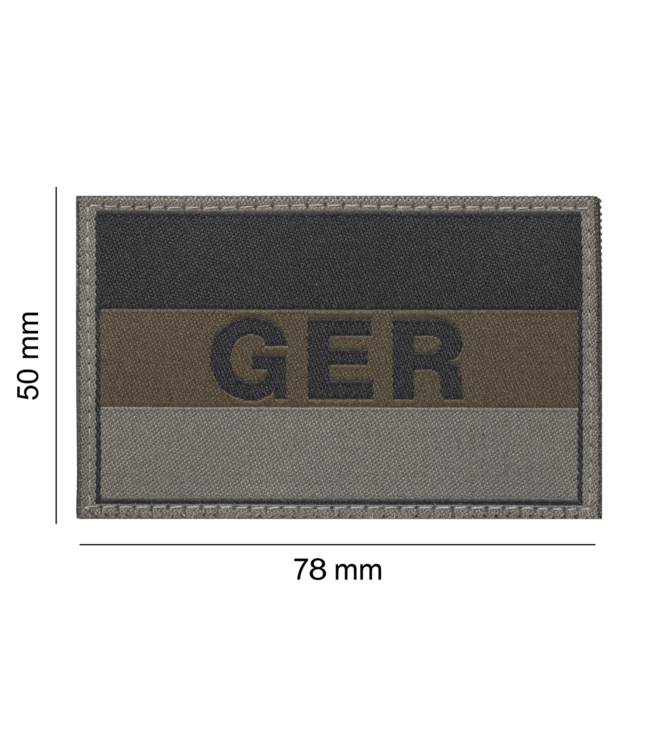 Clawgear Germany/Deutschland Flag Patch RAL7013 (20971)