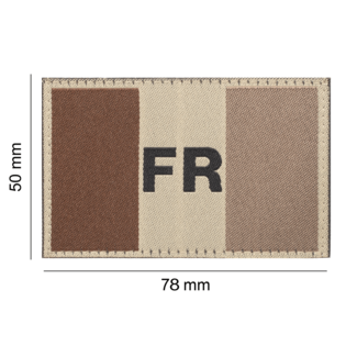 Clawgear France Flag Patch Desert (20968)