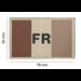Clawgear France Flag Patch Desert (20968)