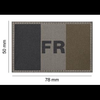 Clawgear France Flag Patch RAL7013 (20969)