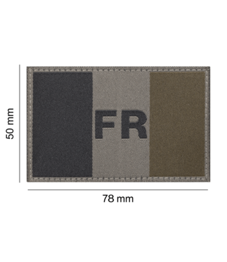 Clawgear France Flag Patch RAL7013 (20969)