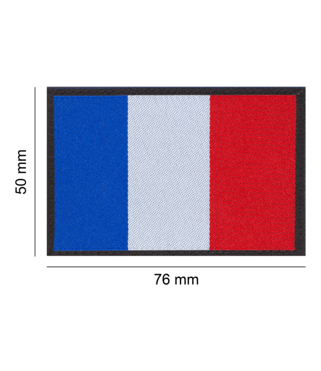 Clawgear France Flag Patch Color (18450)