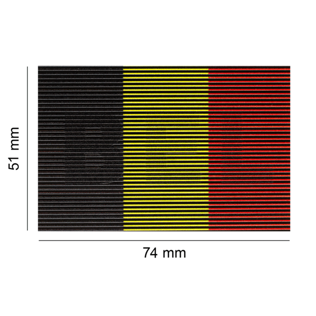 Clawgear Dual IR Patch BEL BELGIUM Color (21786)