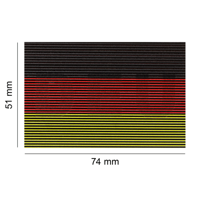Clawgear Dual IR Patch Germany Deutschland Color INFRARED (27804)