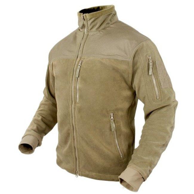 Condor Outdoor ALPHA Micro Fleece Jacket Tan (601-003)
