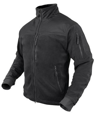 Condor Outdoor ALPHA Micro Fleece Jacket Black (601-002)