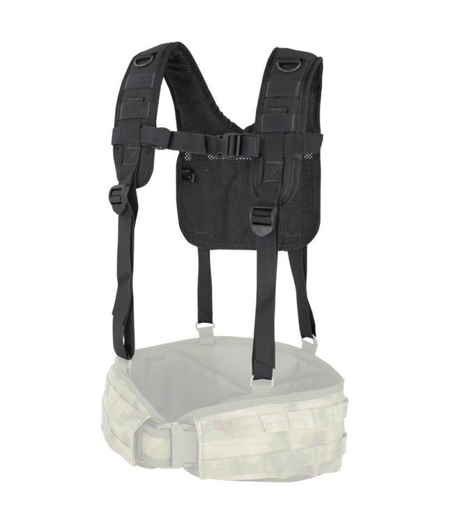 Condor Outdoor H-Harness Black (215-002)
