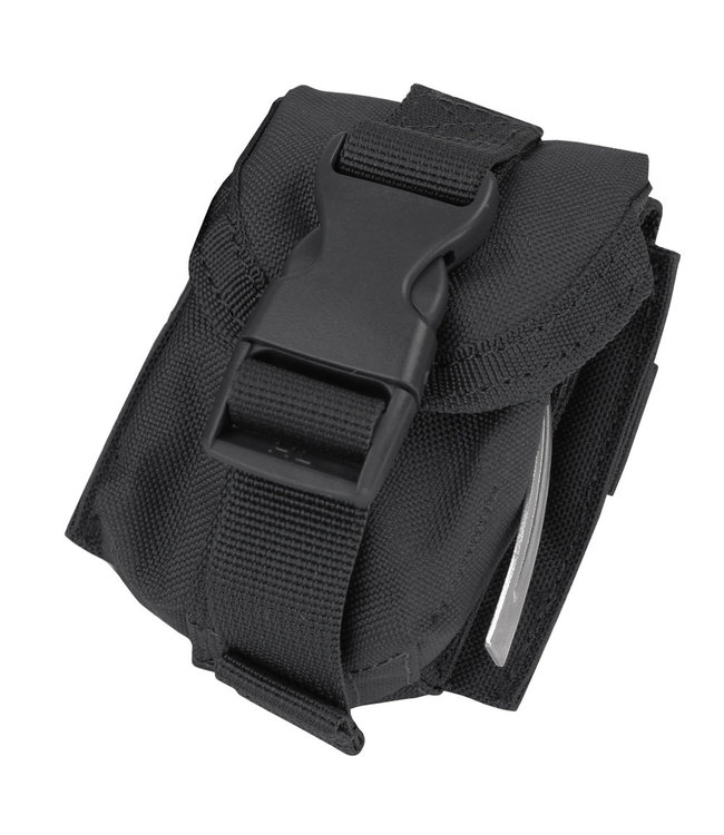 Condor Outdoor Single Frag Grenade Pouch Black (MA15-002)
