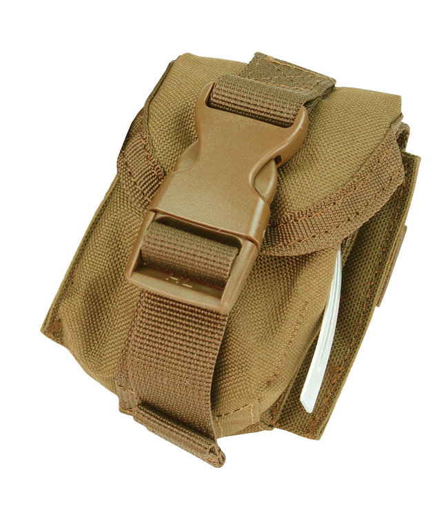 Condor Outdoor Single Frag Grenade Pouch Coyote Brown (MA15-498)